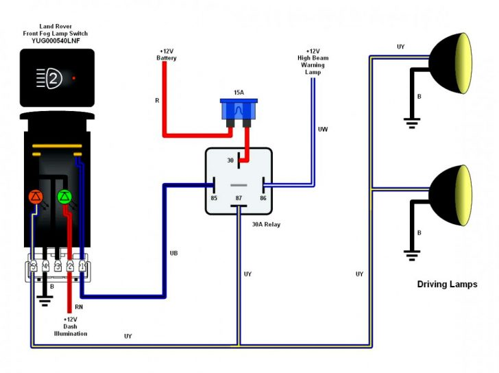Bosch 4 Pin Relay Wiring Diagram