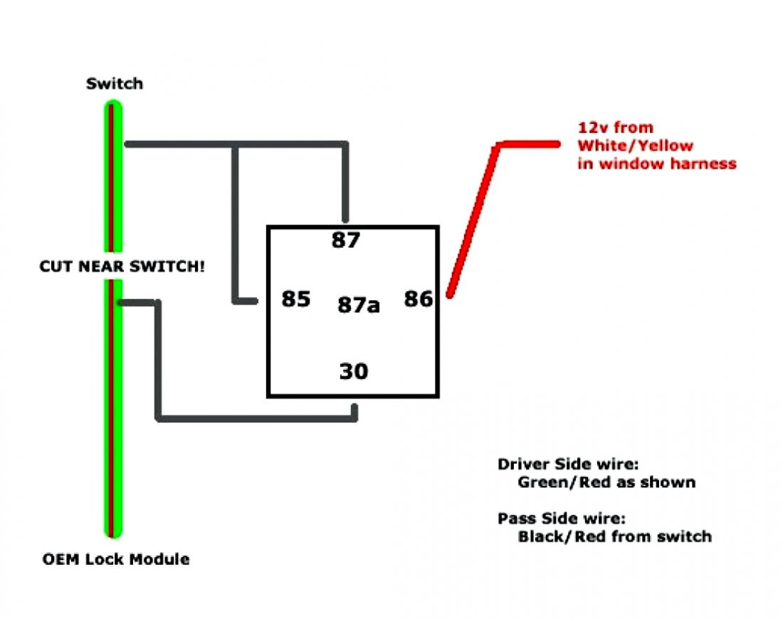 Bosch Relay Wiring Diagram 5 Pole | Manual E-Books - 5 Prong Relay Wiring Diagram