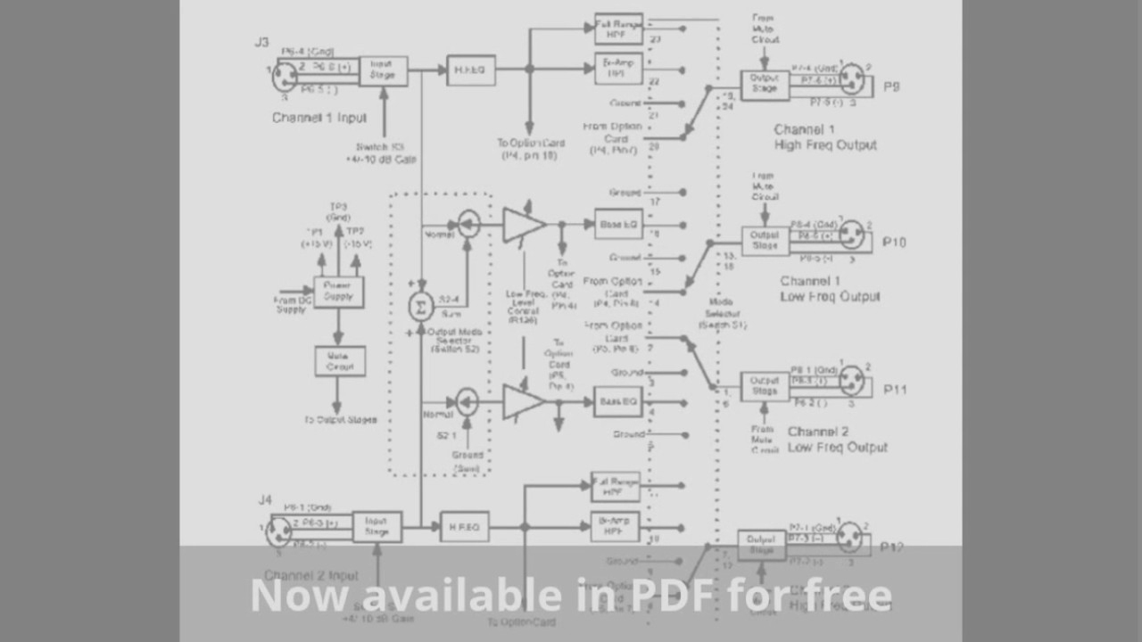 Bose 802 Wiring Diagram | Schematic Diagram - Bose Car Amplifier Wiring Diagram
