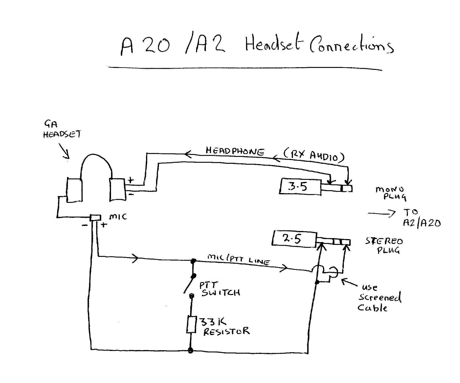 Bose Headset Wiring - Wiring Diagram - Headphone Jack Wiring Diagram