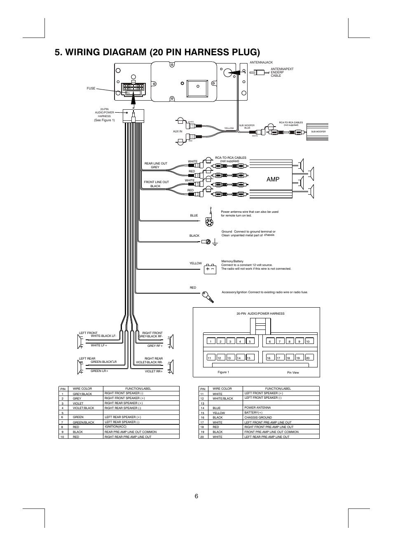 Boss Radio Wiring Harness | Wiring Diagram - Boss Audio Wiring Diagram