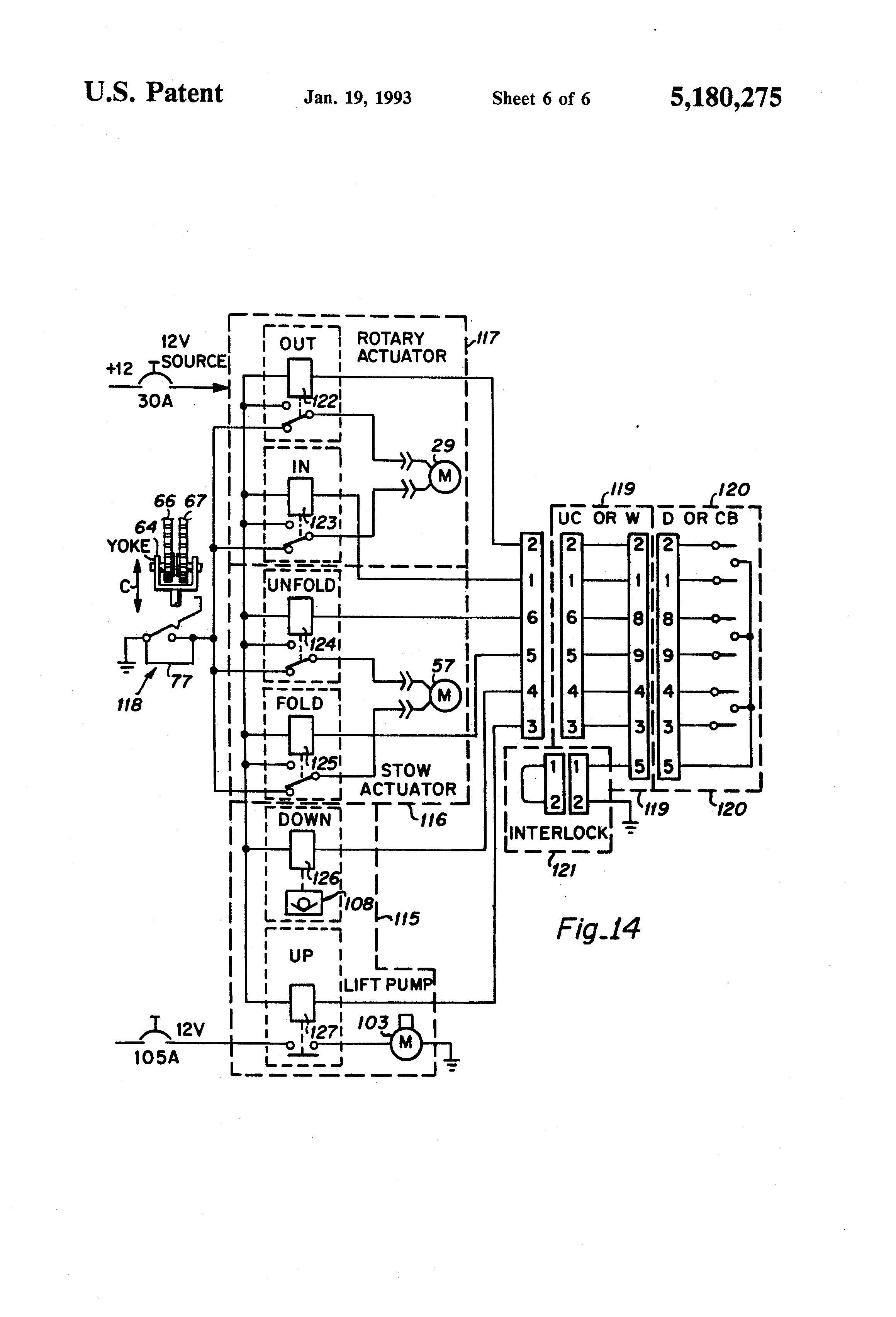 Box Truck Lift Gate Wiring Diagram - Wiring Diagrams Hubs - Western Unimount Wiring Diagram
