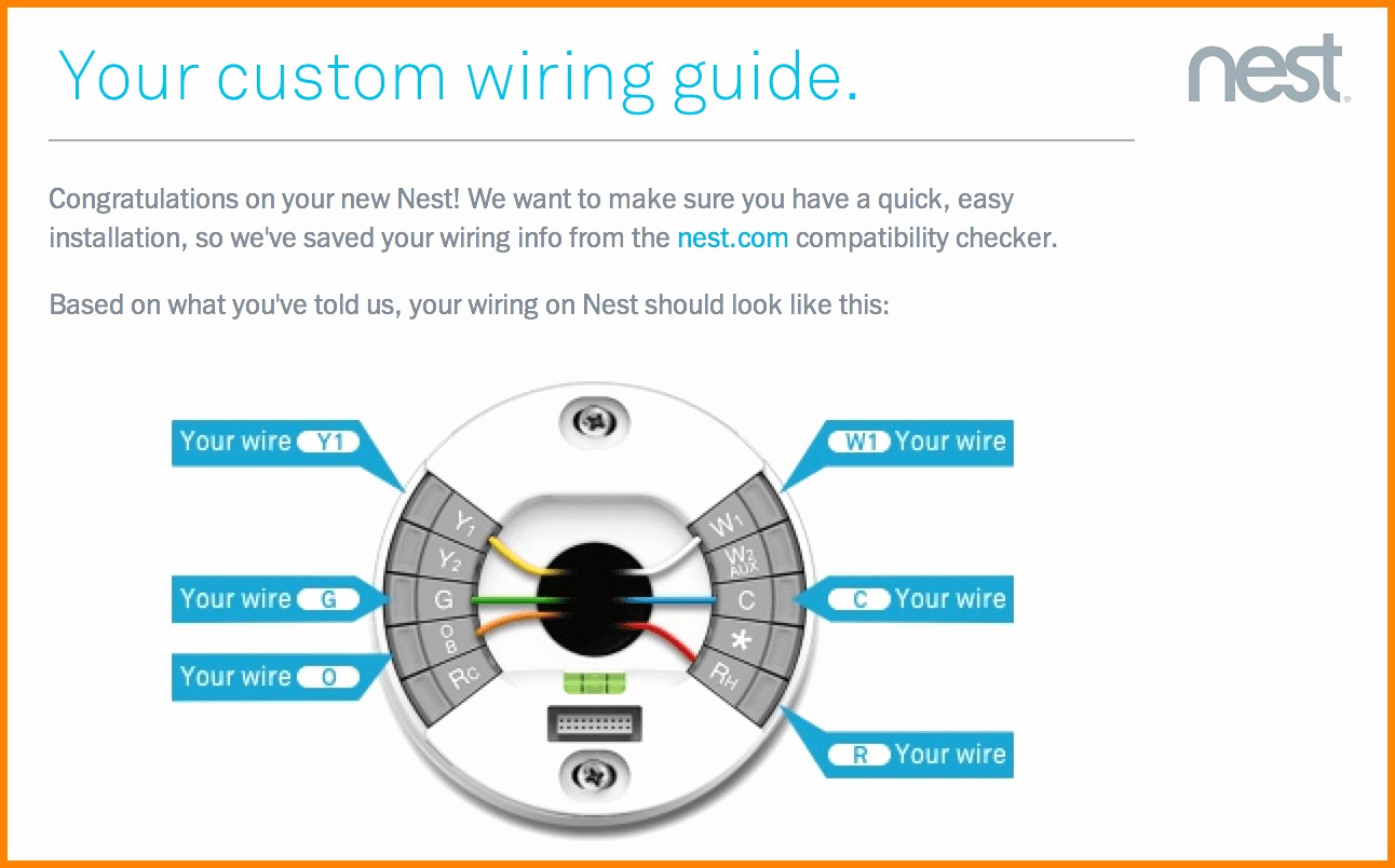 Branchement Thermostat Nest Élégant Stepstep How To Install The - Wiring Diagram For Nest Thermostat