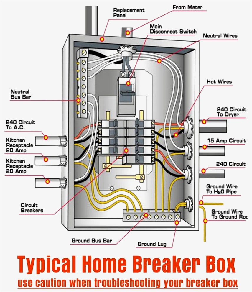 Breaker Box Wiring Diagram Images Typical Within Wellread Me Best Of - Breaker Box Wiring Diagram