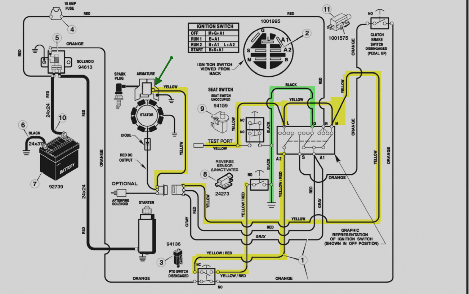 Briggs And Stratton Key Switch Wiring Diagram - Free Wiring Diagram - Lawn Mower Ignition Switch Wiring Diagram