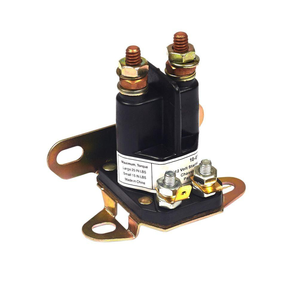 Briggs & Stratton 4-Pole Starter Solenoid-5410K - The Home Depot - 4 Pole Solenoid Wiring Diagram