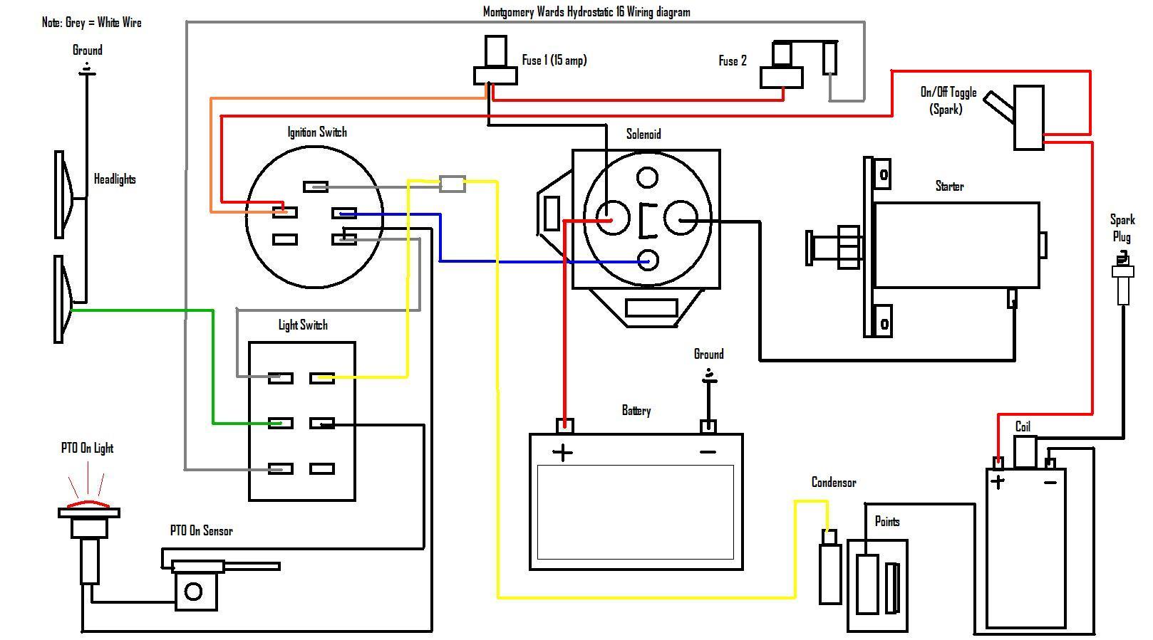 Briggs Stratton Engine Wiring Diagram | Hastalavista - Briggs And Stratton Wiring Diagram 18 Hp