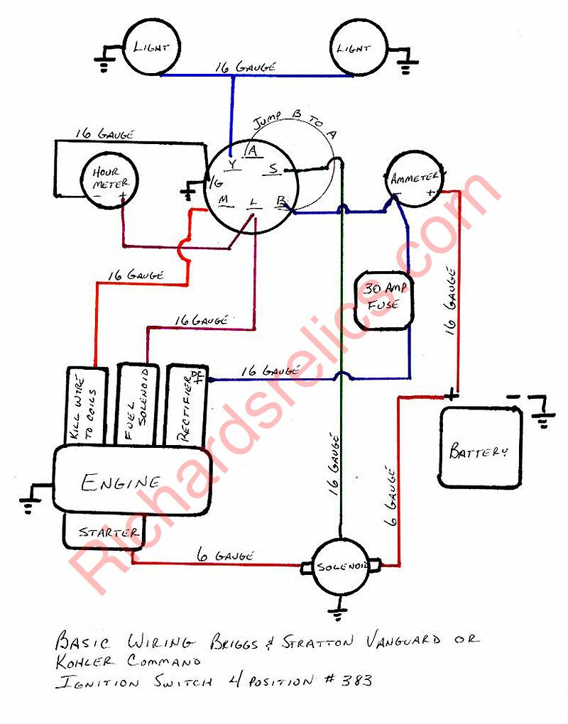 Briggs Stratton Starter Wiring Diagram | Wiring Diagram - Briggs And Stratton Coil Wiring Diagram