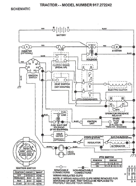 Briggs Strortton Mowers Wire Harness Diagram - Wiring Diagram Detailed - Briggs And Stratton Wiring Diagram