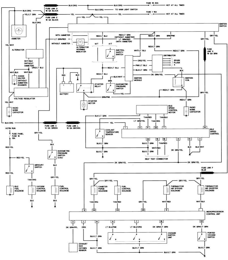 Bronco Ii Wiring Diagrams : Bronco Ii Corral   1990 Ford Bronco Wiring Diagram