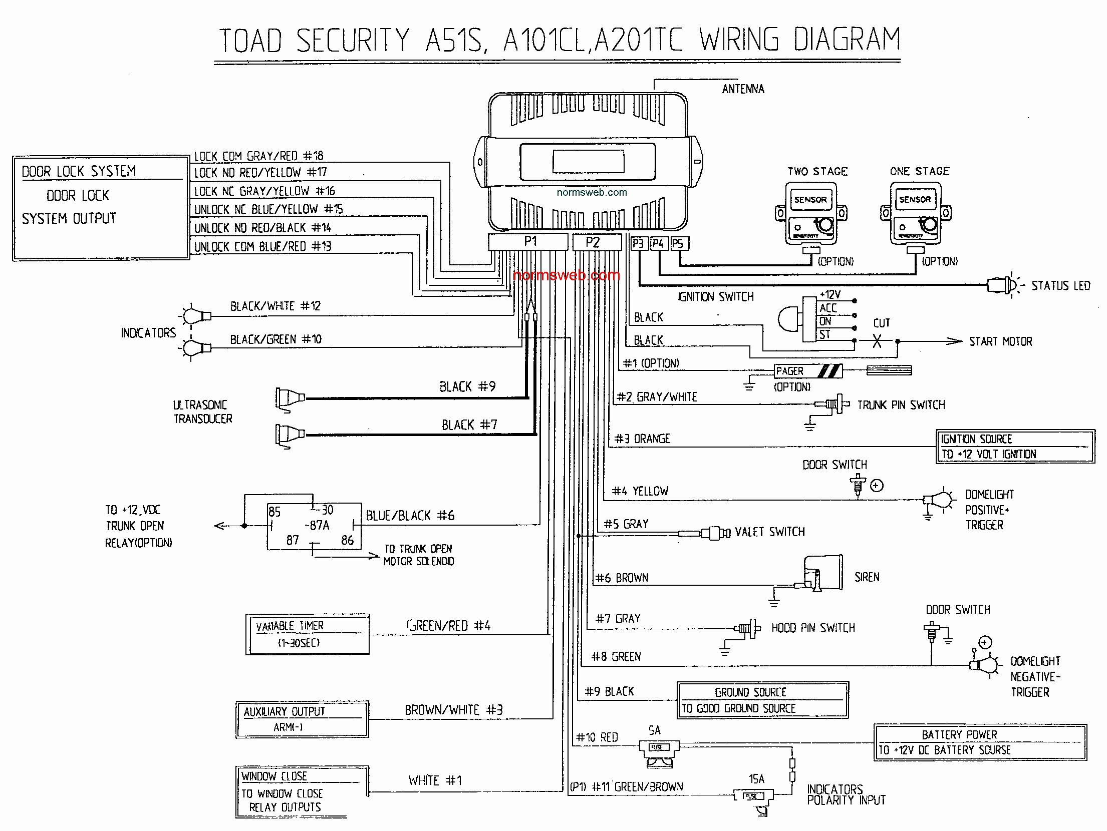 bulldog wiring diagrams repair machine Bulldog Security Vehicle Diagram