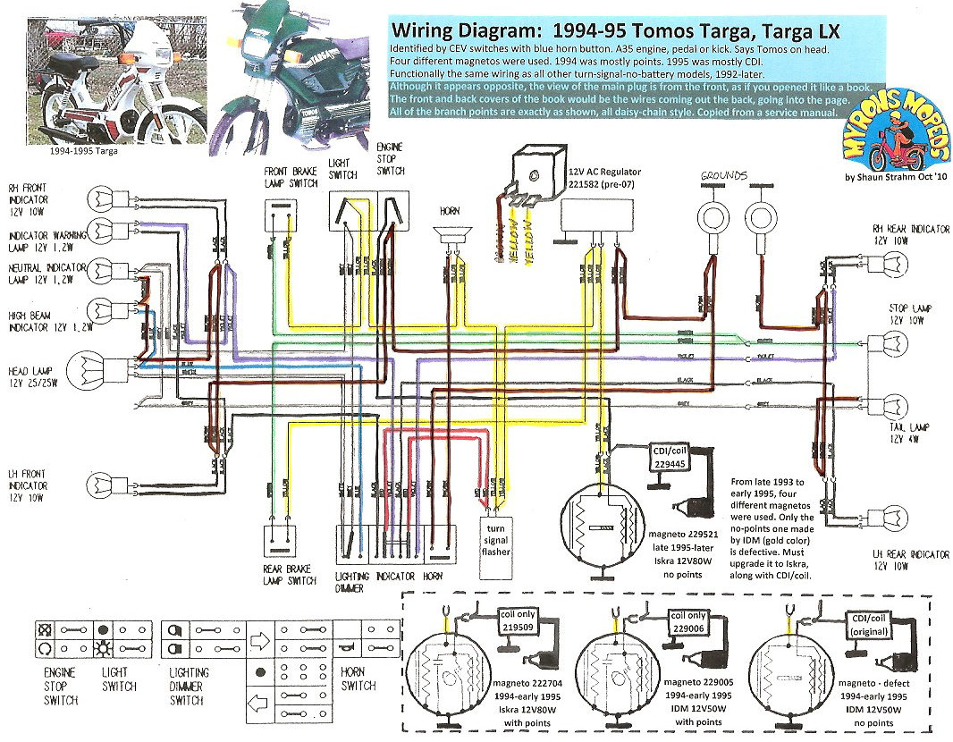 C3 Moped Diagram - Wiring Diagram Data Oreo - 150Cc Scooter Wiring Diagram