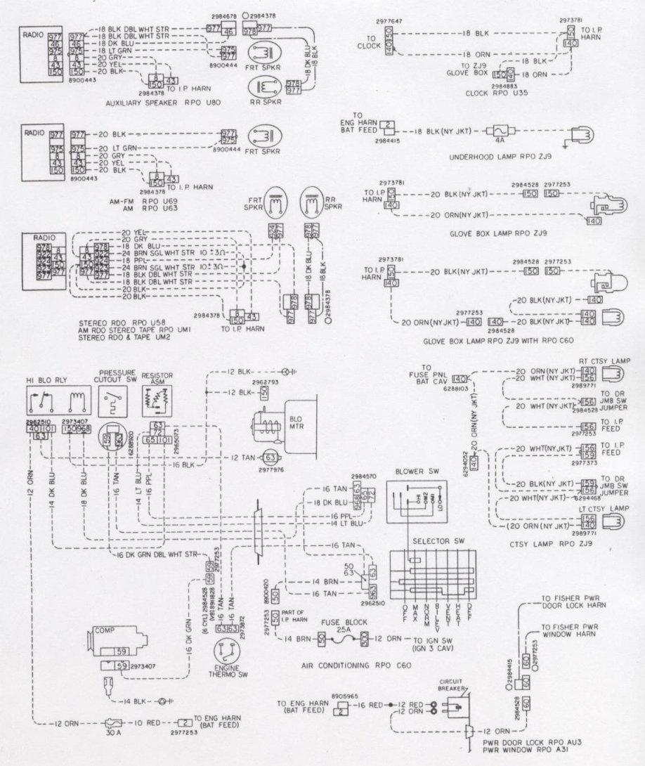 Camaro Wiring & Electrical Information - Ignition Wiring Diagram
