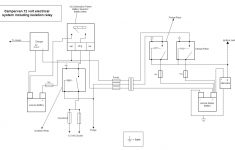 Campervan And Motorhome Electrical Systems   Build A Campervan   Campervan Wiring Diagram
