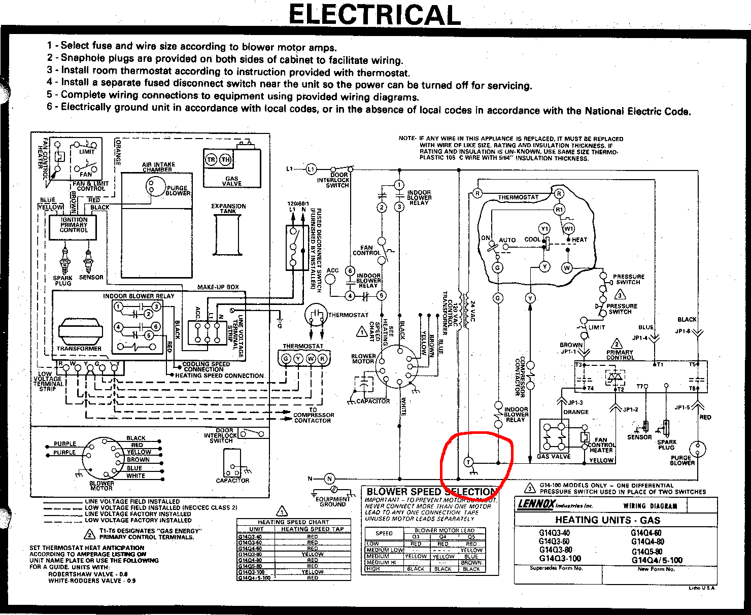 Can I Use The T Terminal In My Furnace As The C For A Wifi - Furnace Wiring Diagram