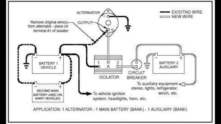 Trailer Battery Wiring Diagram