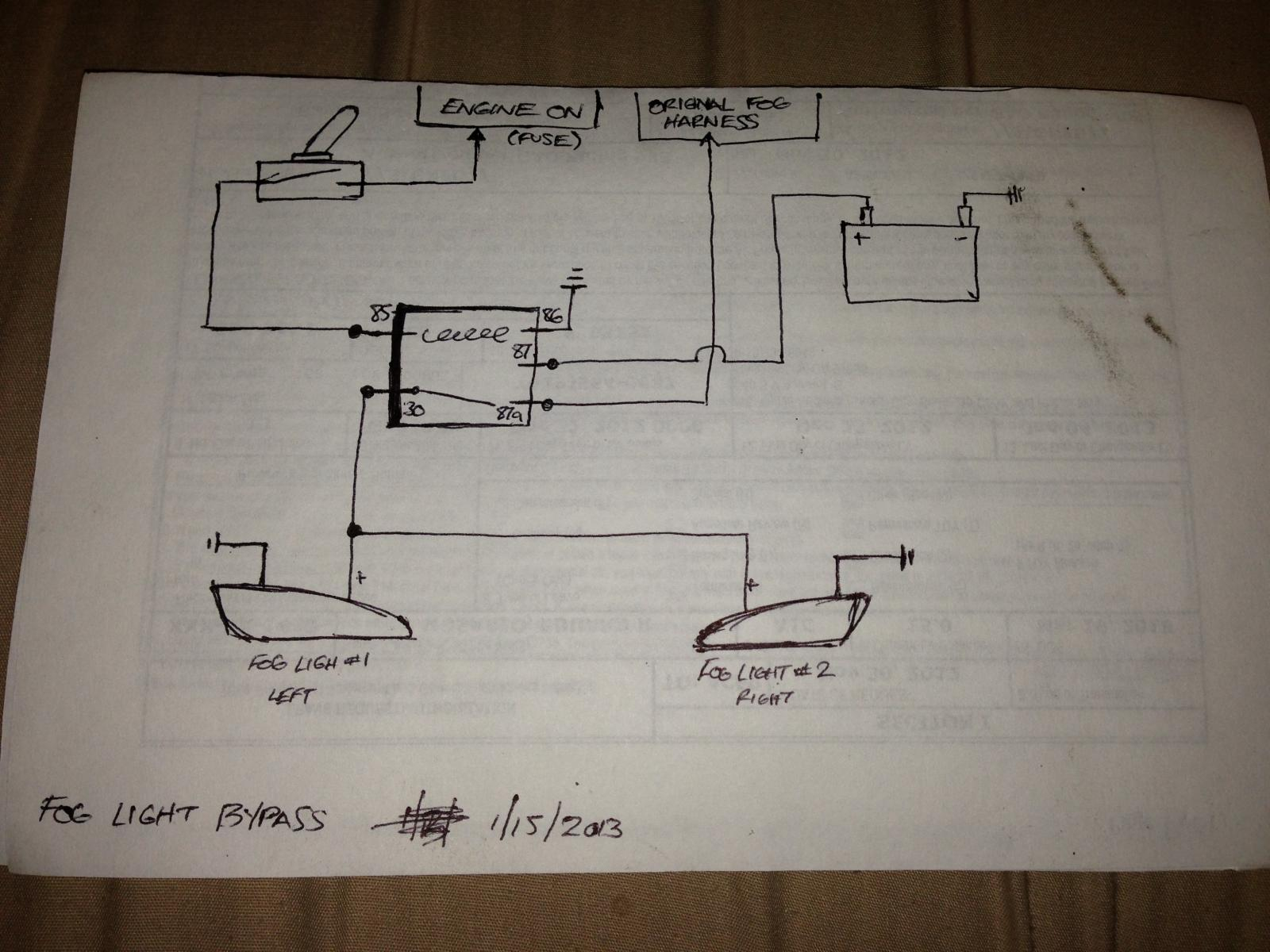 Car Headlight Wiring Diagram - Go Wiring Diagram - Headlight Wiring Diagram