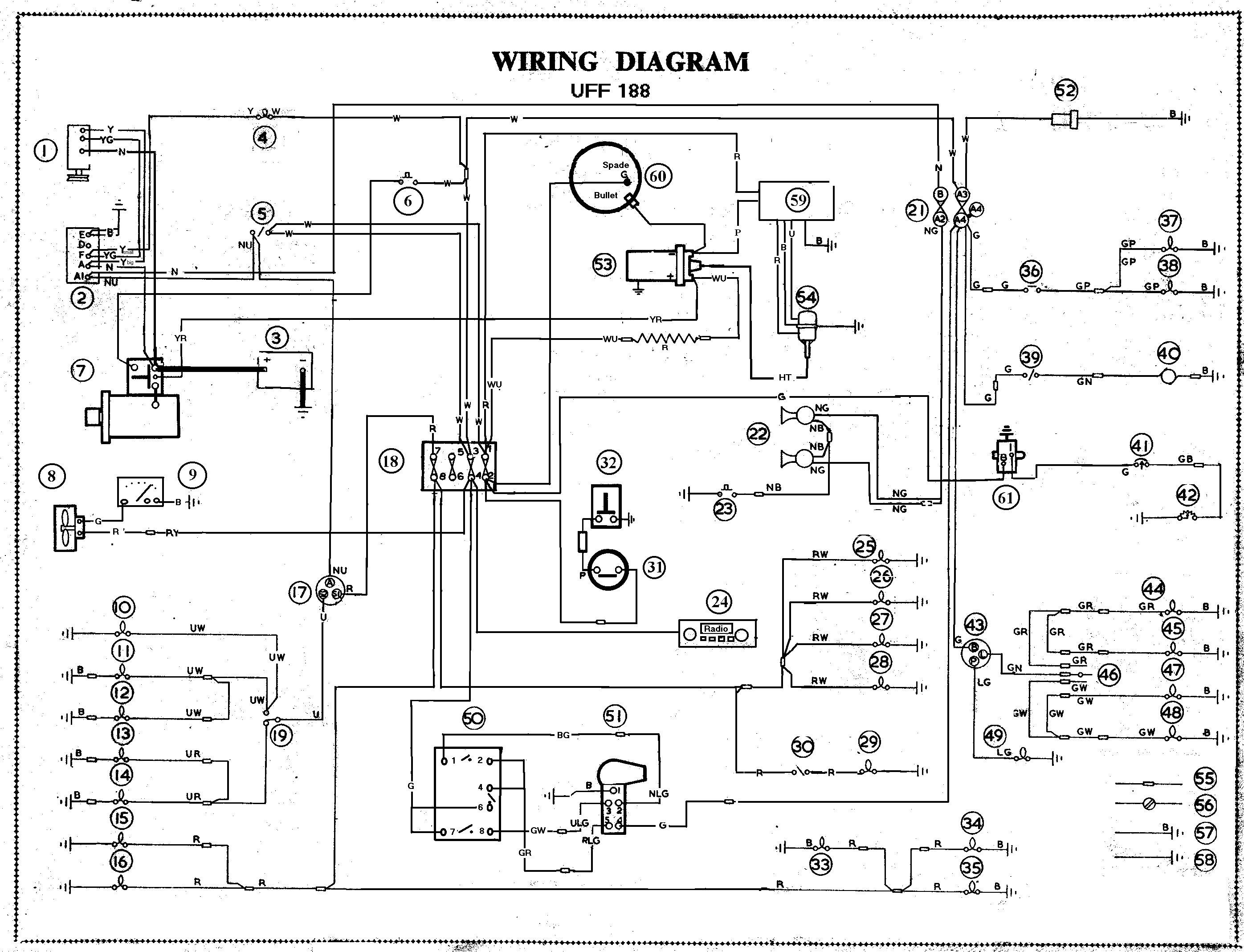 Car Schematic Diagram - Wiring Diagrams Hubs - Automobile Wiring Diagram
