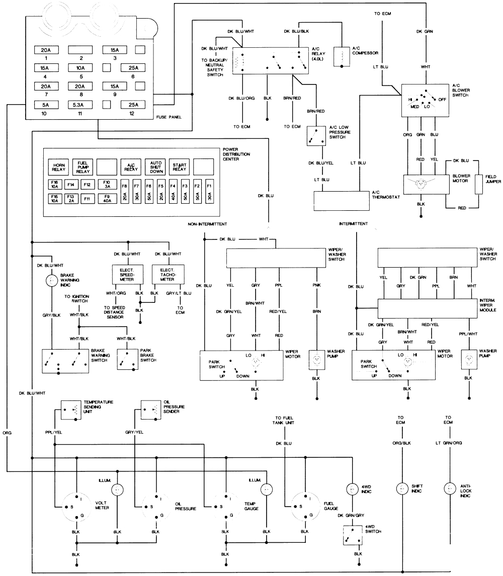 Car Wiring 99 Jeep Wrangler Diagram With 13799D1341694512 New 2001 - Jeep Wrangler Wiring Diagram