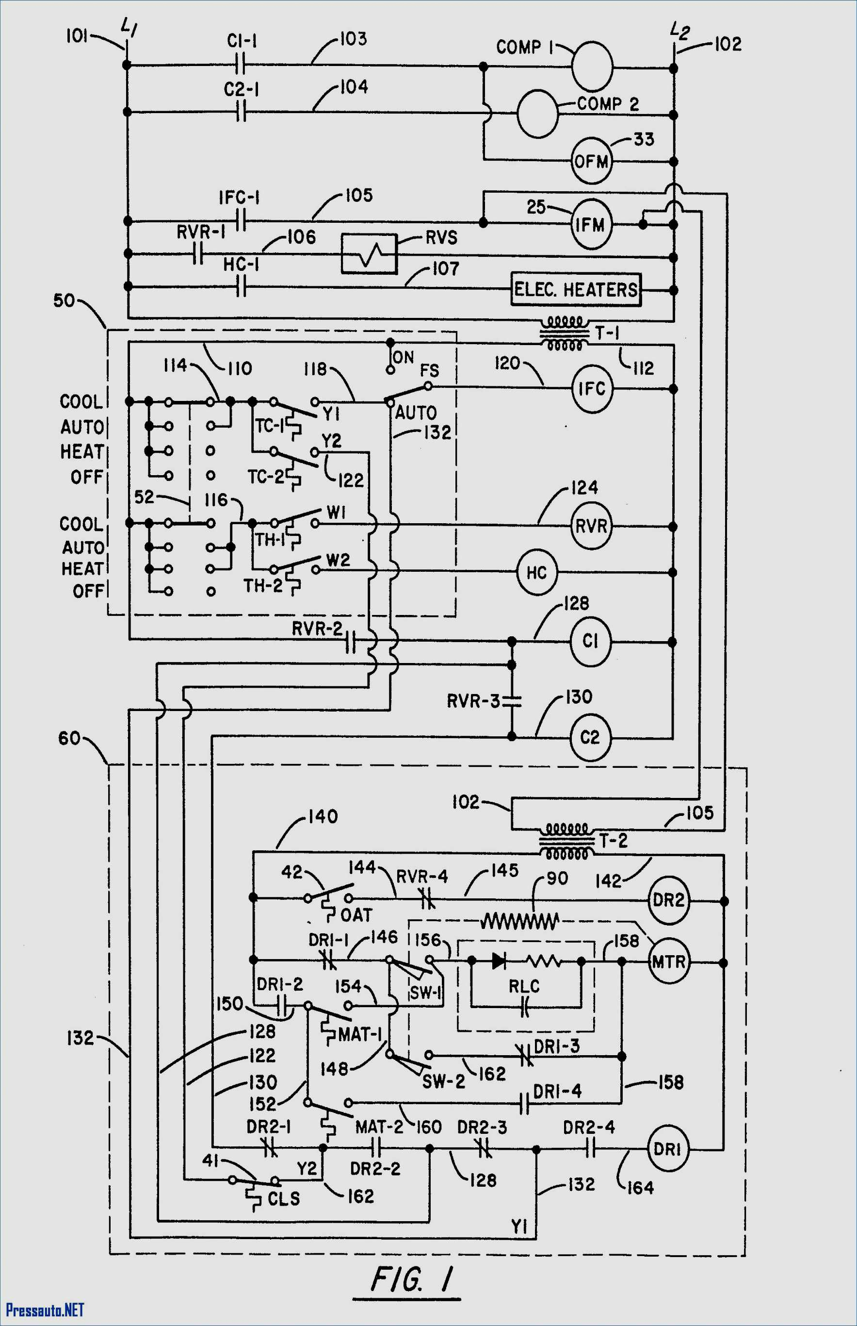 Carrier Air Conditioner Wiring Diagram - Carrier Air Conditioner Wiring Diagram