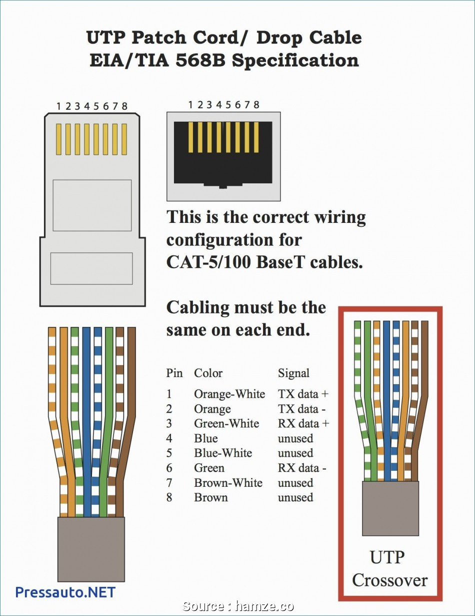 Cat 5 Cable End Diagram - Wiring Diagrams Hubs - Cat 5 Wiring Diagram
