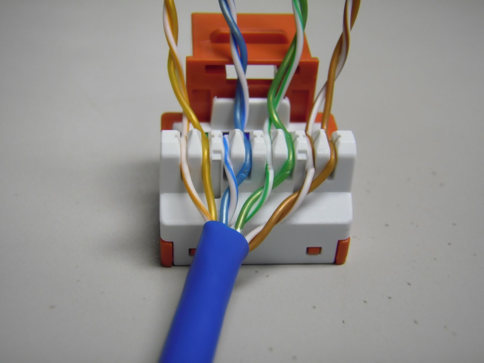 Cat 6 Jack Wiring - Wiring Diagram Data - Ethernet Wall Socket Wiring Diagram