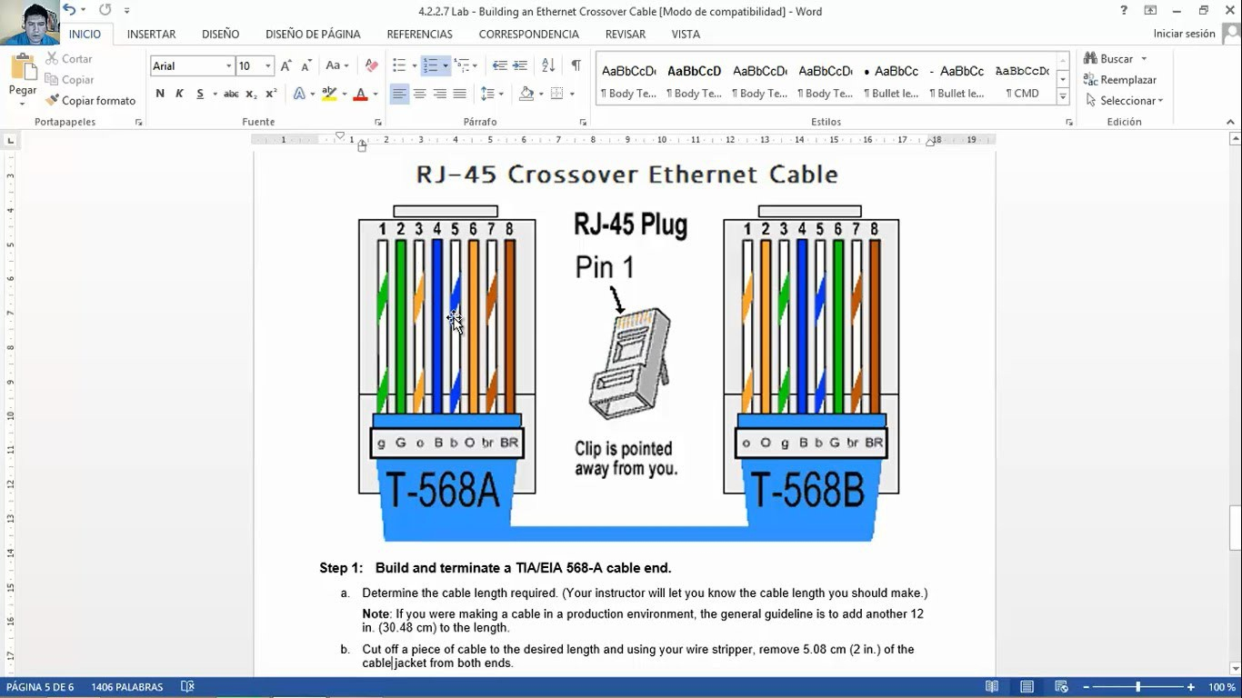 Cat5E T568B Wiring Diagram | Wiring Library - Ethernet Cable Wiring Diagram