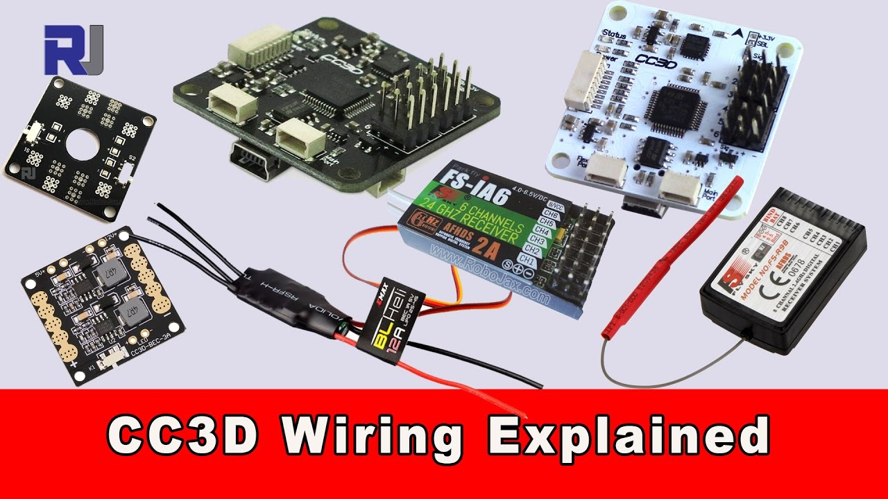 Cc3D Flight Controller Wiring Connection Explained - Youtube - Cc3D Wiring Diagram