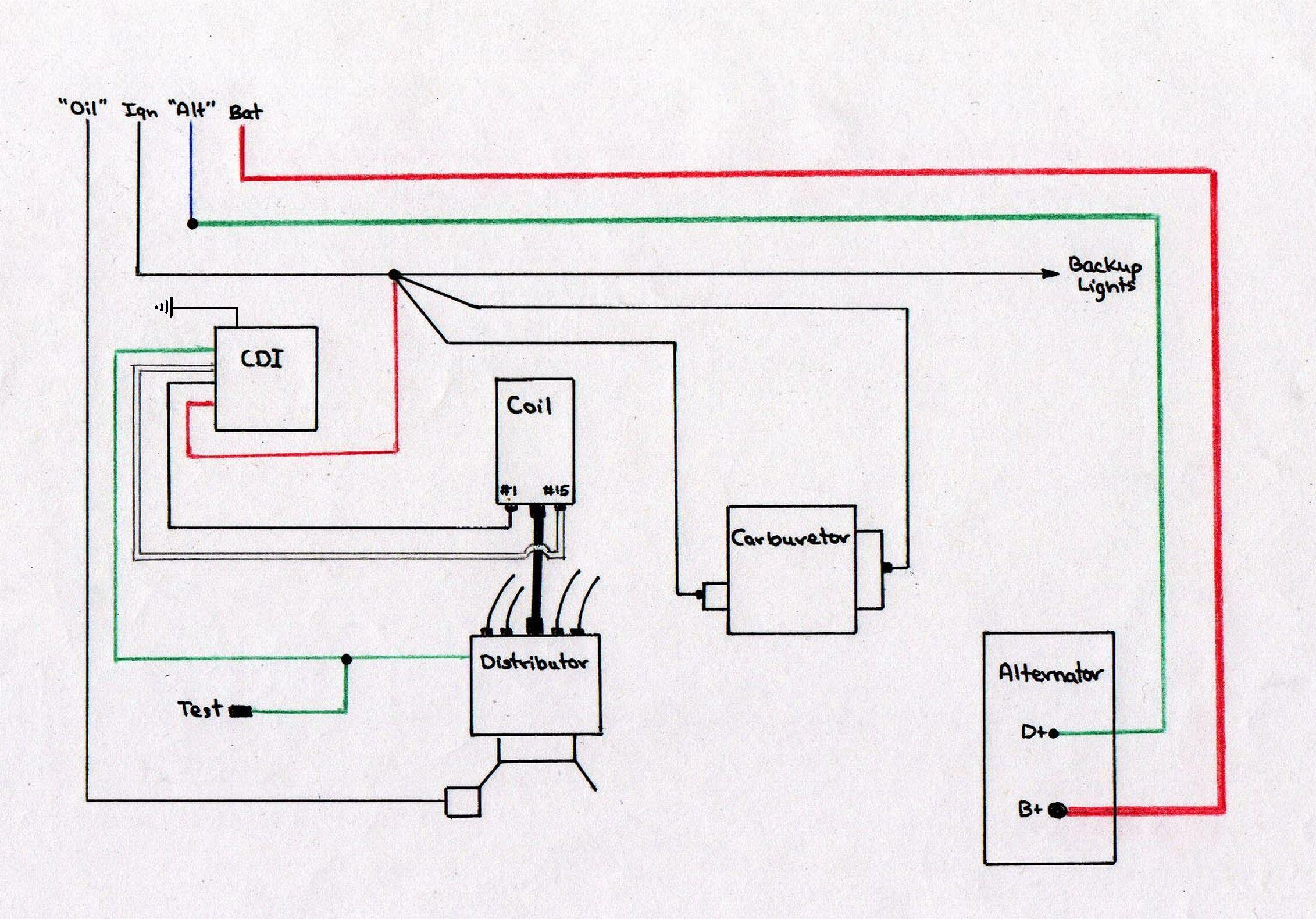 Cdi Ignition Wire - Today Wiring Diagram - 5 Pin Cdi Wiring Diagram