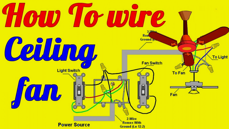 Ceiling Fan Wiring Diagram 12 2 - Trusted Wiring Diagram - Wiring Diagram For Ceiling Fan With Lights