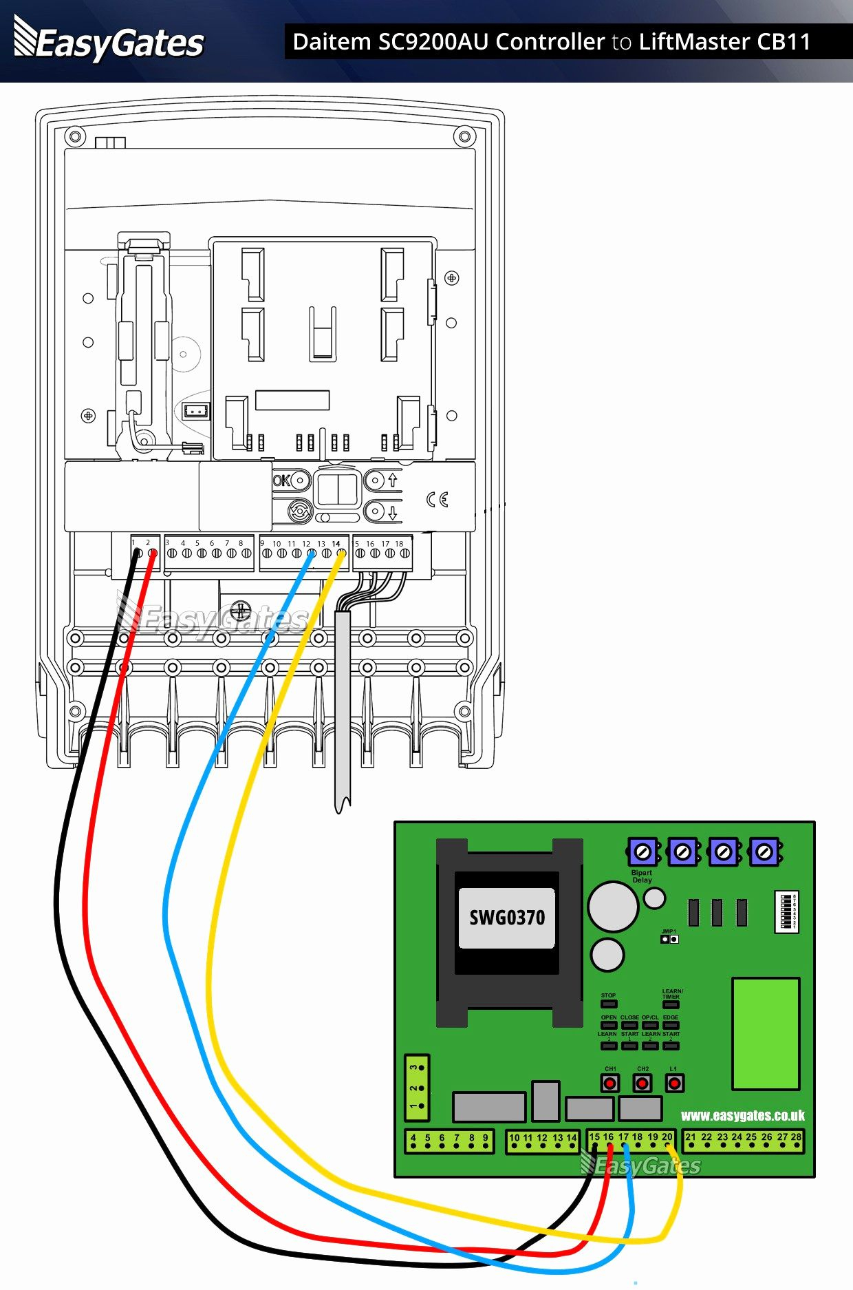 Chamberlain Whisper Drive Garage Door Opener Wiring Diagram | Manual - Chamberlain Garage Door Opener Wiring Diagram