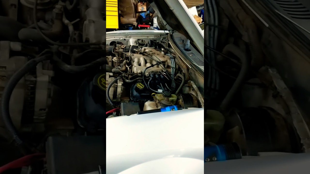 Changing Spark Plugs And Wires On 2002 Ford Mustang 3 8L - Youtube