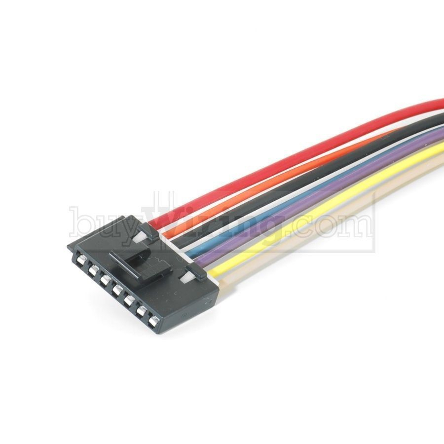 Chevrolet 7-Wire Blower Motor Resistor Harness/pigtail | Ebay - 2005 Chevy Silverado Blower Motor Resistor Wiring Diagram