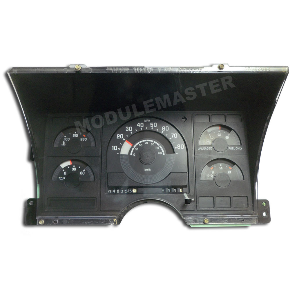 Chevrolet Chevy Silverado / Gmc Sierra (1988-1992) Instrument - 1991 Chevy Truck Wiring Diagram