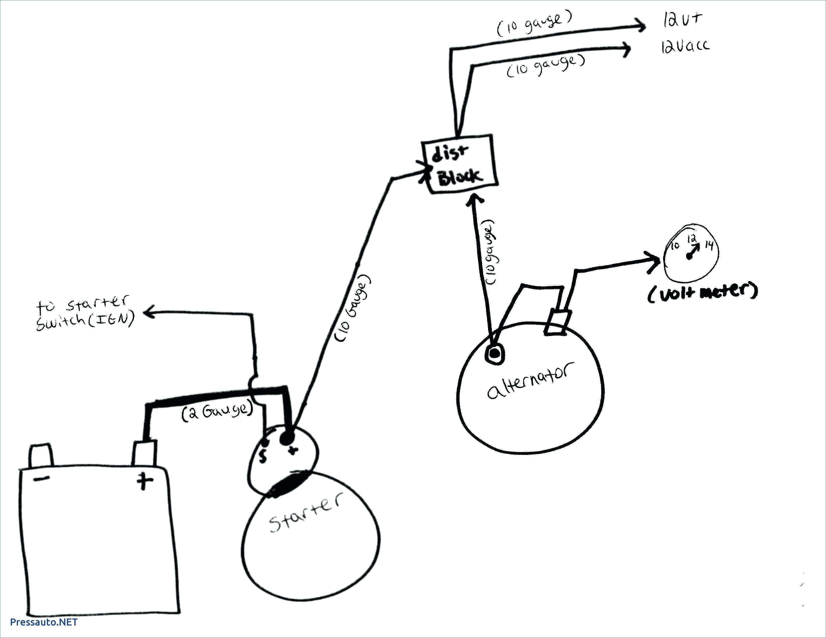 Chevy 3 Wire Alternator Wiring - Data Wiring Diagram Detailed - One Wire Alternator Wiring Diagram