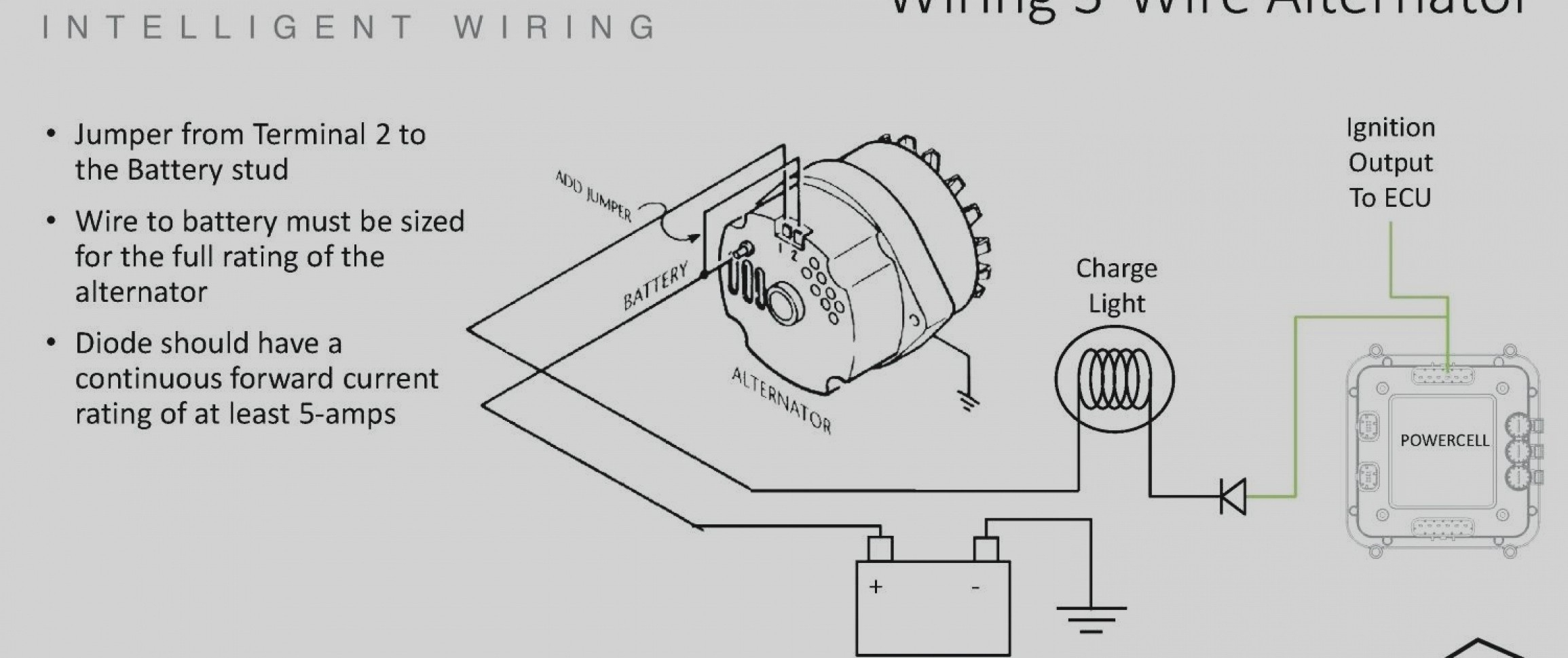 Chevy 350 Alternator Voltage Regulator Wiring Diagram - Wiring Diagrams - Gm Alternator Wiring Diagram