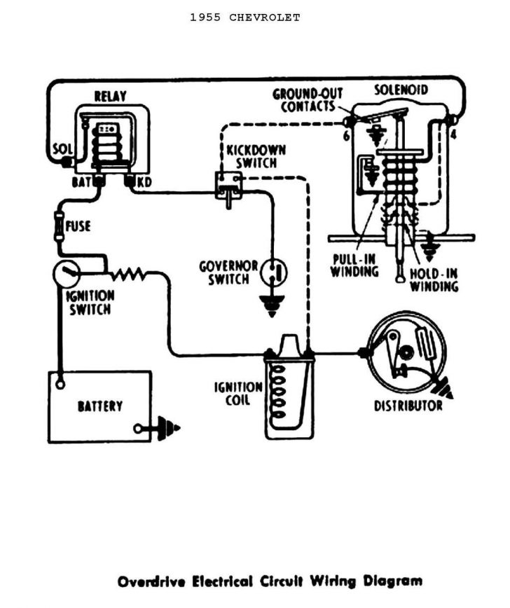 Single Point Distributor Wiring Diagram
