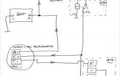 Chevy One Wire Alternator Diagram Electrical Circuit 3 Wire – Ford Alternator Wiring Diagram