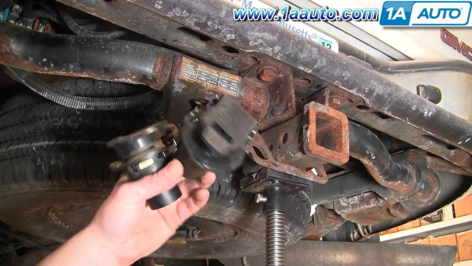 Chevy Silverado 7 Plug Trailer Wiring Diagram | Wiring Diagram - 2002 Chevy Silverado Trailer Wiring Diagram