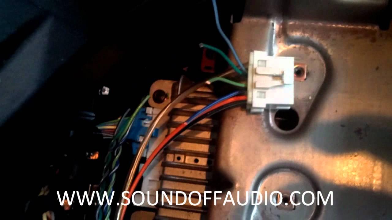 Chevy Silverado Amp Bypass - Youtube - 2004 Silverado Bose Amp Wiring Diagram