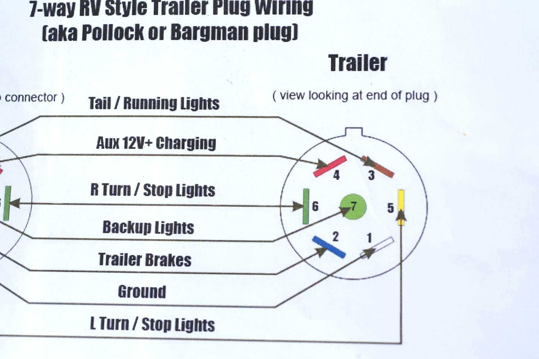 Chevy Trailer Wiring Harness Diagram 7 Pin To 4 | Wiring Diagram - Chevy 7 Pin Trailer Wiring Diagram