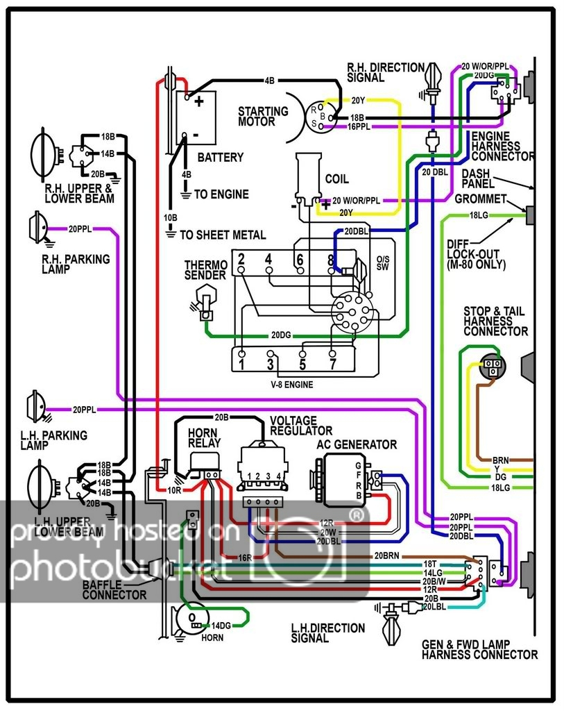 Chevy Truck Wire Schematics - Wiring Diagram Data - Chevy Alternator Wiring Diagram