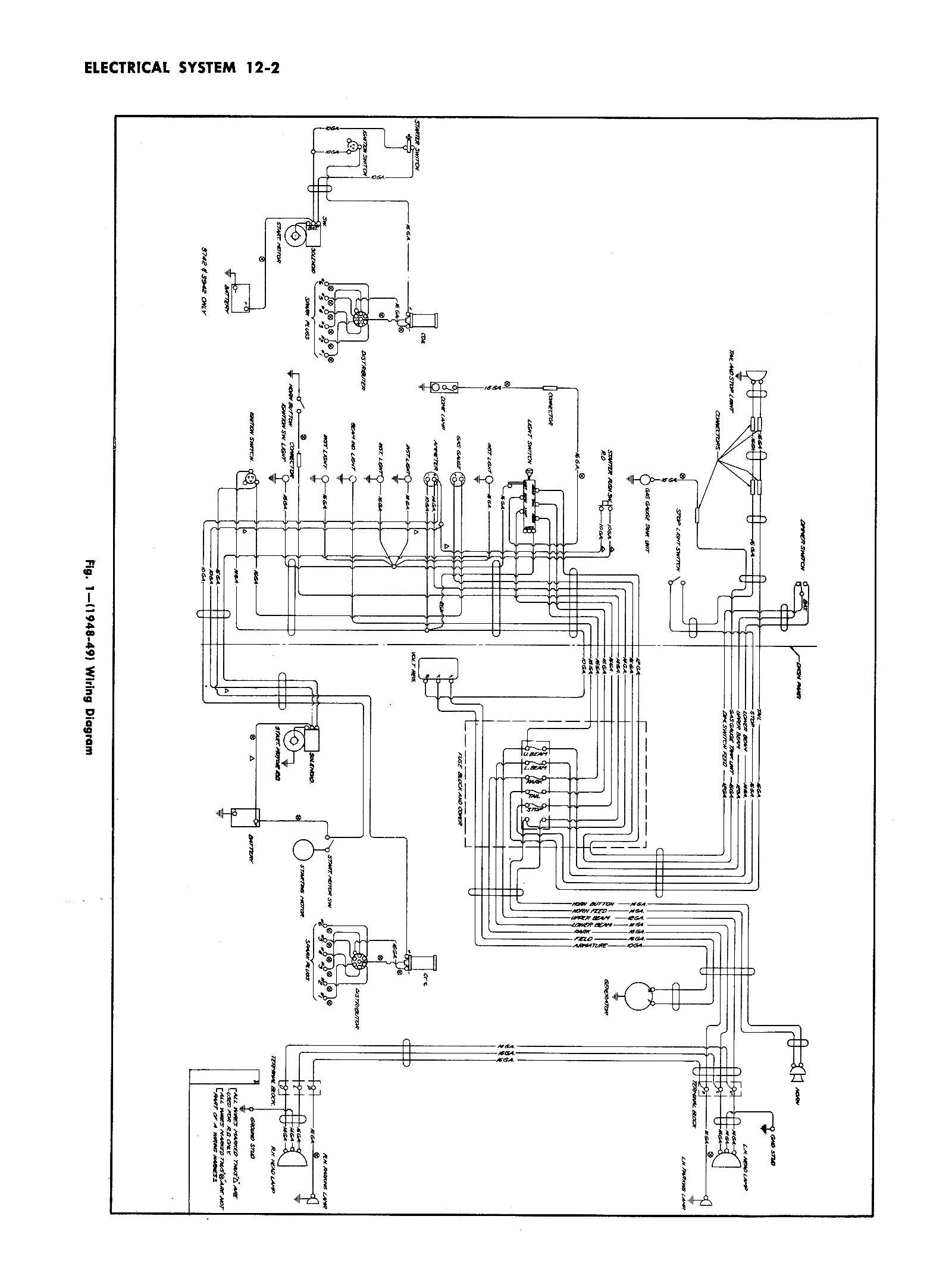 Chevy Wiring Diagrams - Chevy Headlight Switch Wiring Diagram
