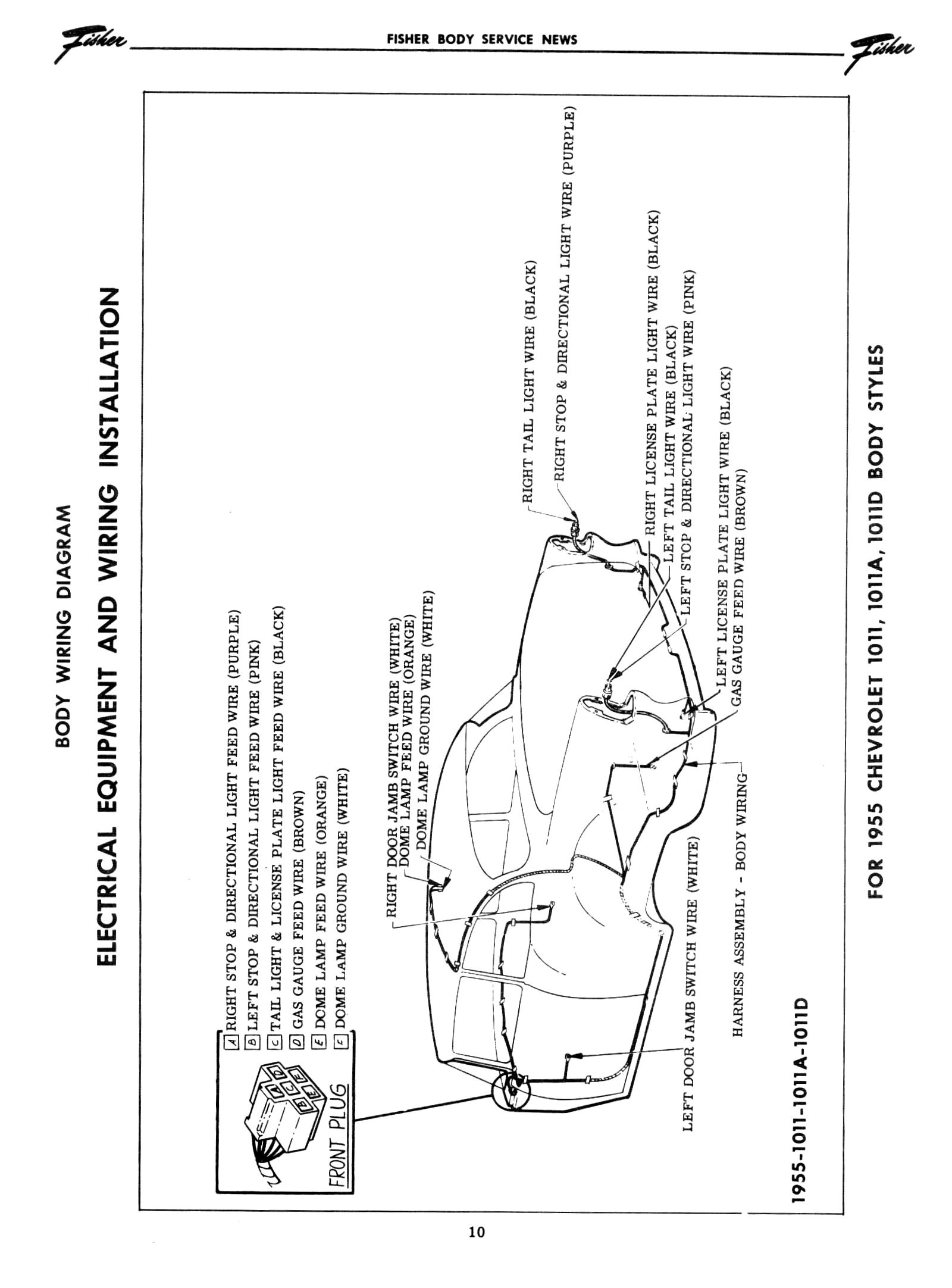 Chevy Wiring Diagrams - Dome Light Wiring Diagram