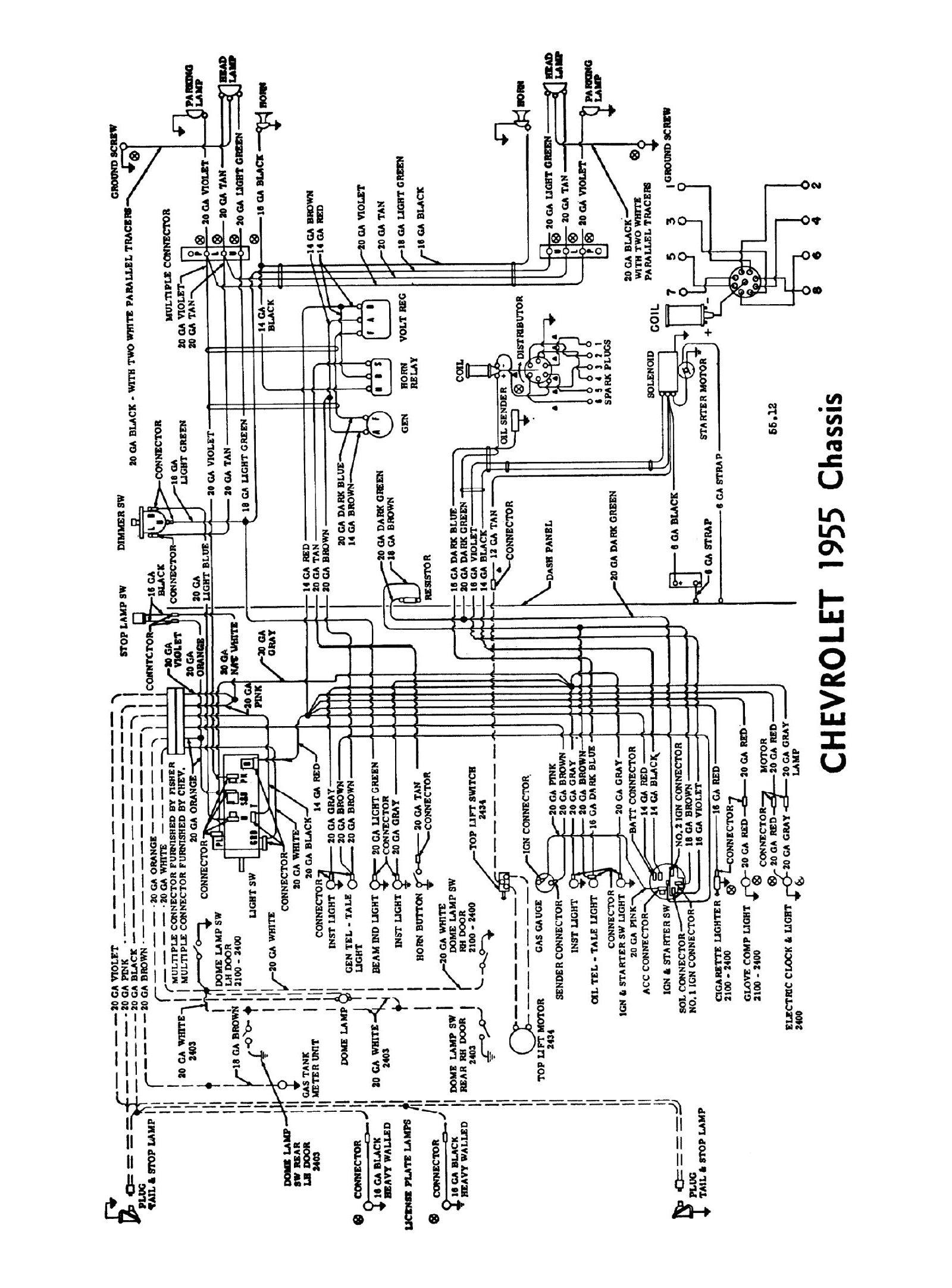Chevy Wiring Diagrams - Fuel Sending Unit Wiring Diagram