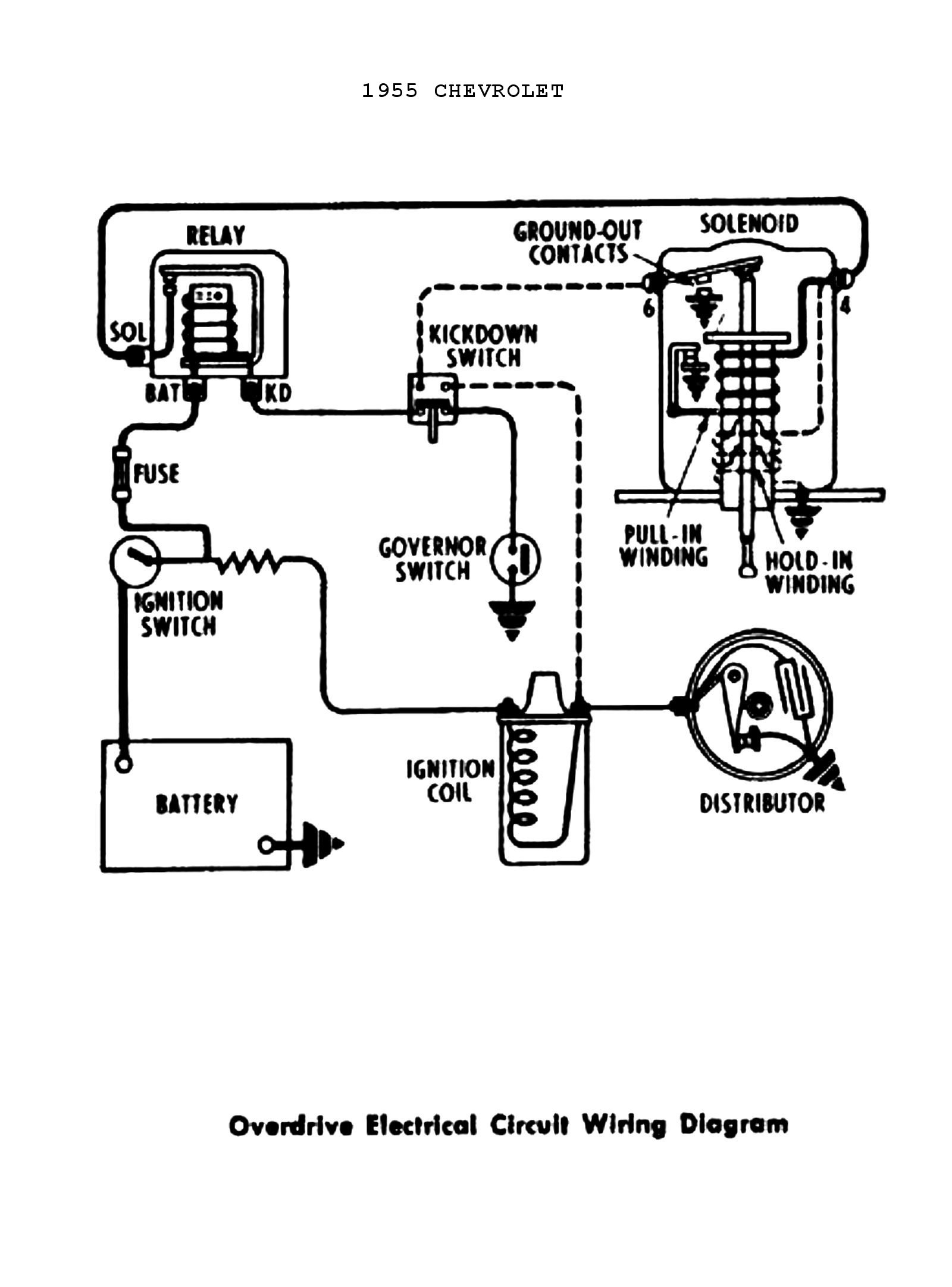 Chevy Wiring Diagrams - Ignition Switch Wiring Diagram Chevy