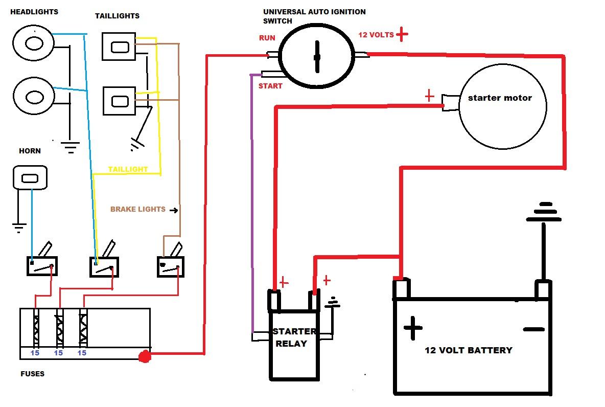 Chinese 4 Wheeler Wiring Diagram | Manual E-Books - Chinese 4 Wheeler Wiring Diagram