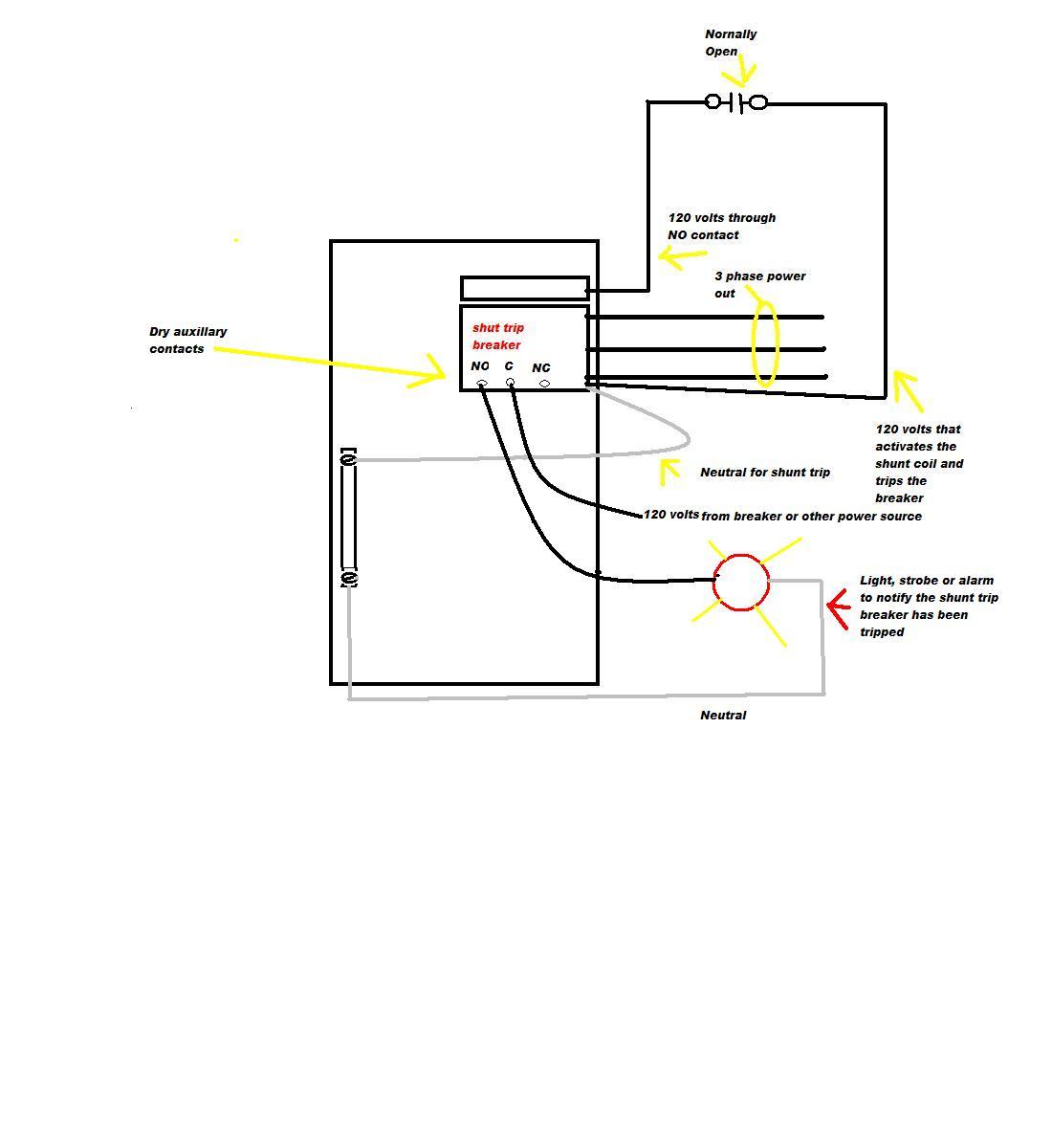 Circuit Breaker Shunt Trip Wiring Diagram Library New | Msyc Switch - Shunt Trip Breaker Wiring Diagram