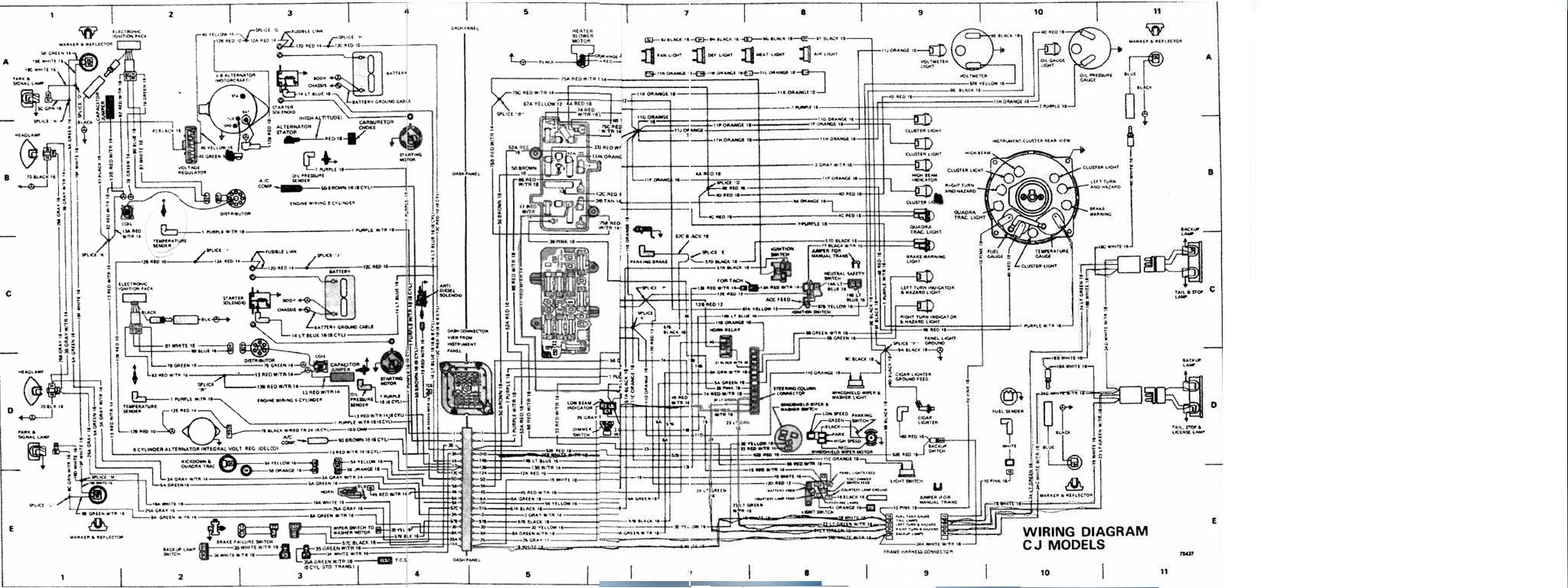 Cj7 Wire Harness | Wiring Diagram - Painless Wiring Harness Diagram