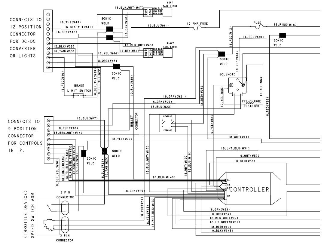 Club Car Precedent Golf Cart Wiring Diagram | Wiring Diagram - 2008 Club Car Precedent Wiring Diagram